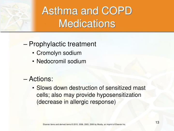 Asthma and COPD Medications
