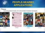 people nearby applications