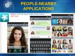 people nearby applications3