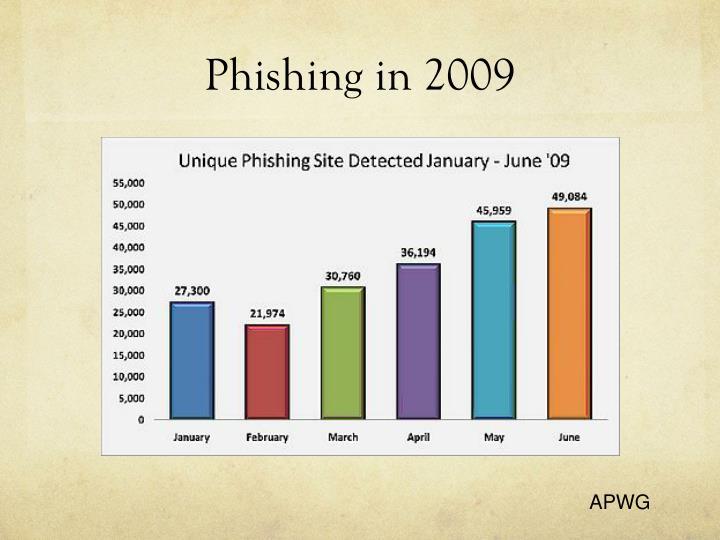 Phishing in 2009