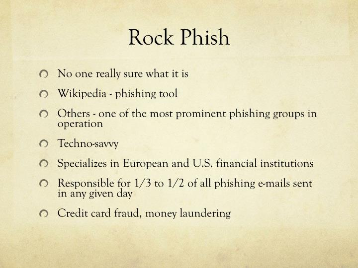Rock Phish