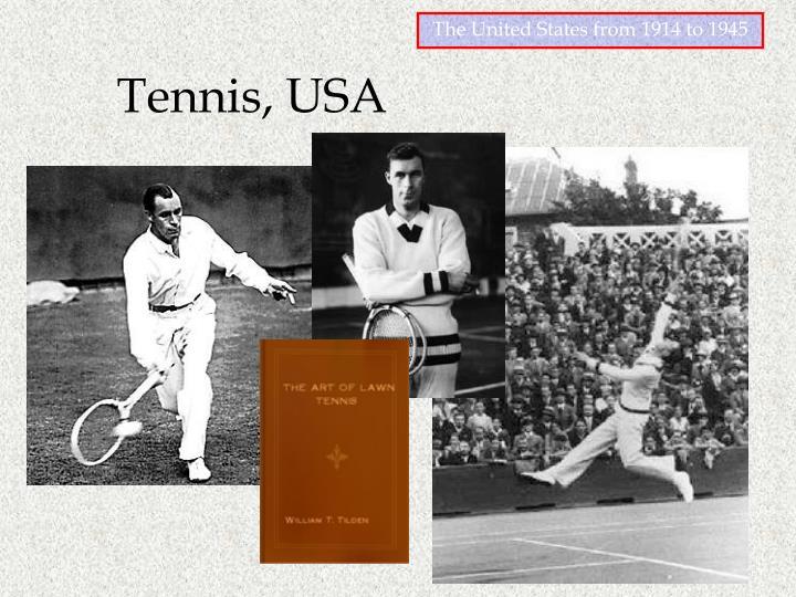 Tennis, USA