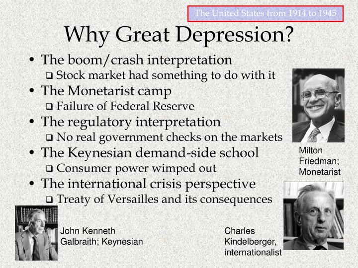 Why Great Depression?