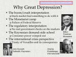 why great depression
