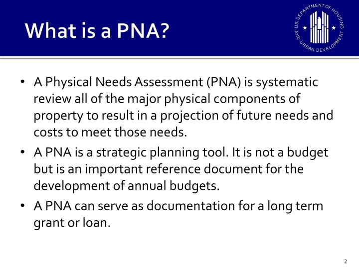 What is a PNA?