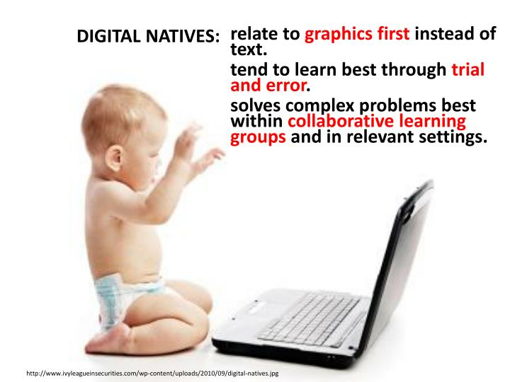 DIGITAL NATIVES: