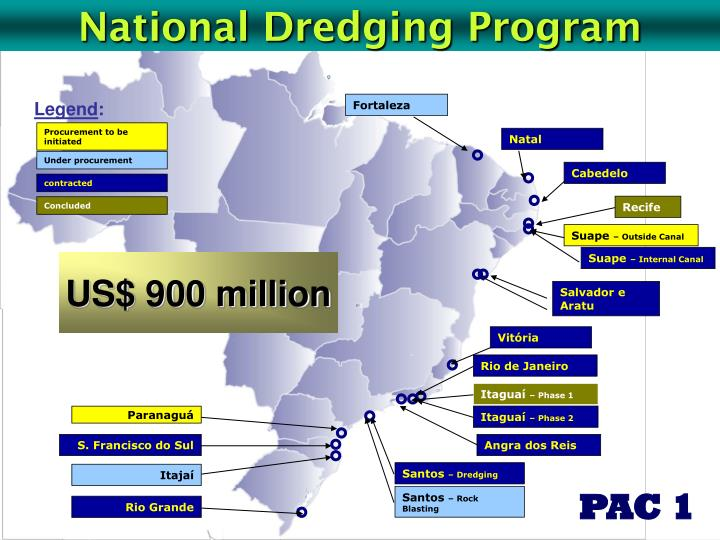National Dredging Program