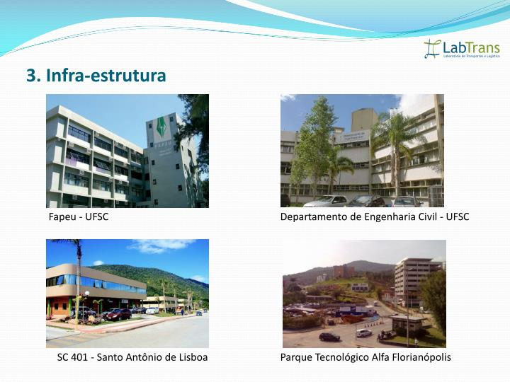 3. Infra-estrutura