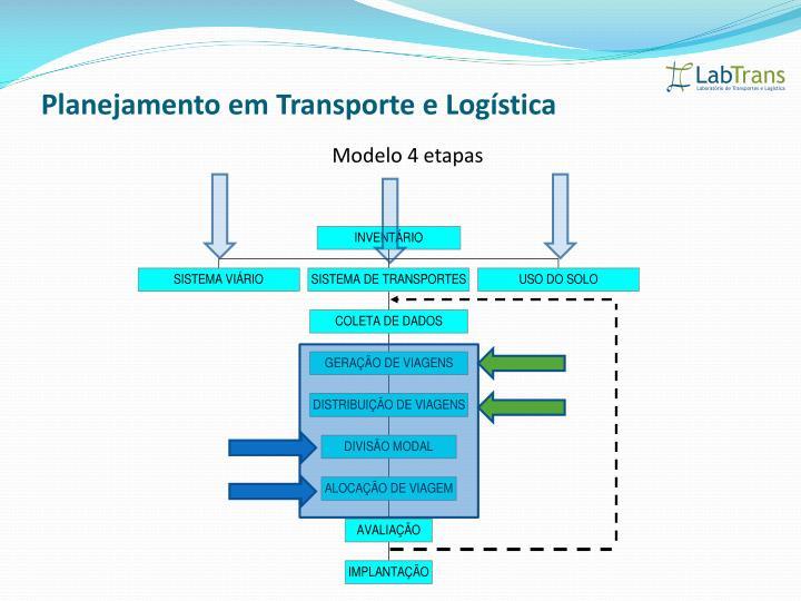 Planejamento em Transporte e Logística