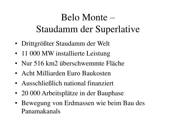 Belo Monte –
