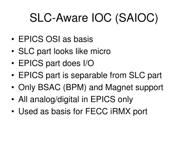 SLC-Aware IOC (SAIOC)