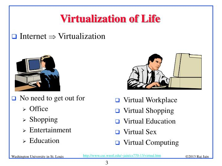 Virtualization of Life