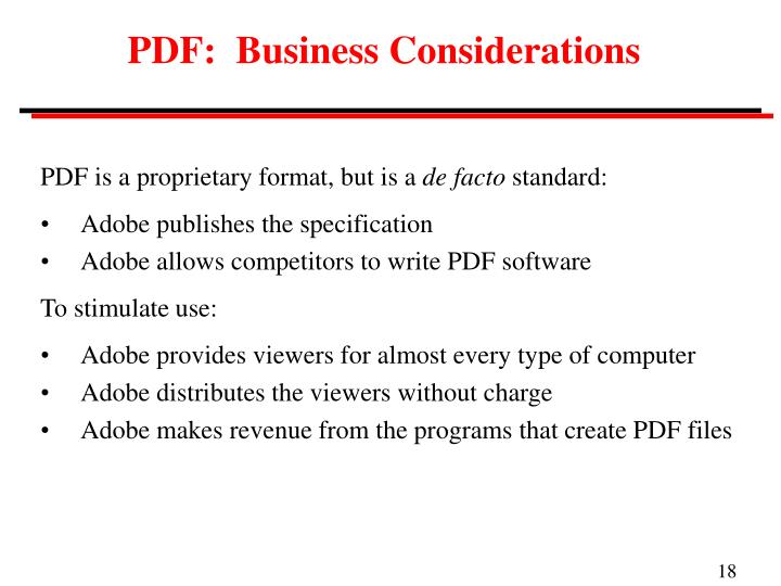 PDF:  Business Considerations