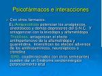 psicof rmacos e interacciones