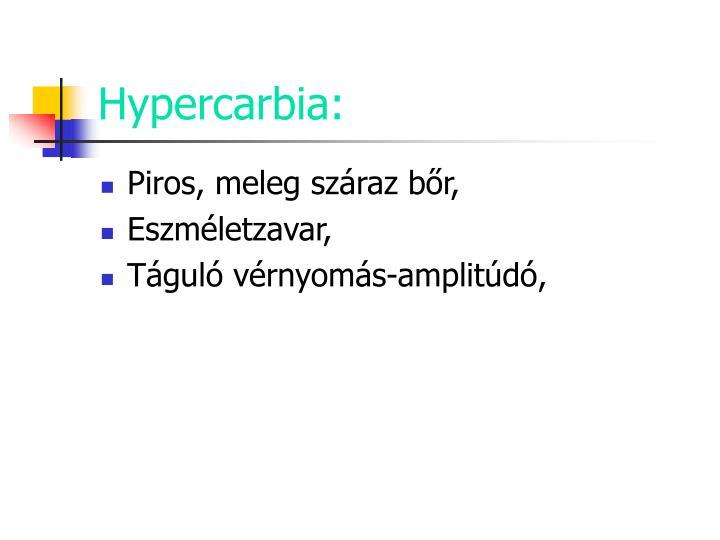 Hypercarbia:
