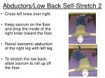 abductors low back self stretch 2