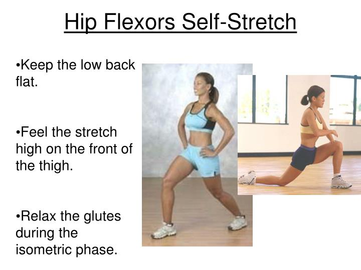 Hip Flexors Self-Stretch