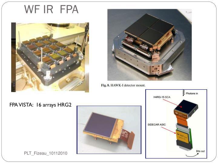 WF IR  FPA