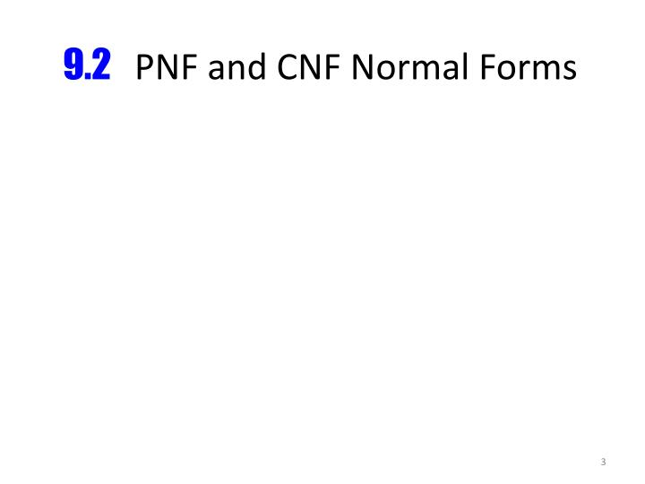 9 2 pnf and cnf normal forms