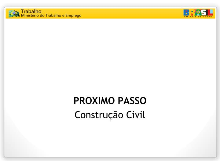PROXIMO PASSO