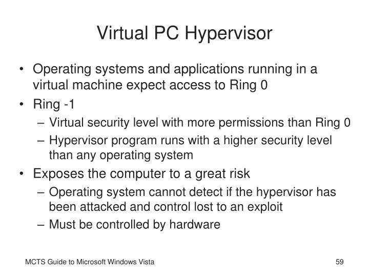 Virtual PC Hypervisor