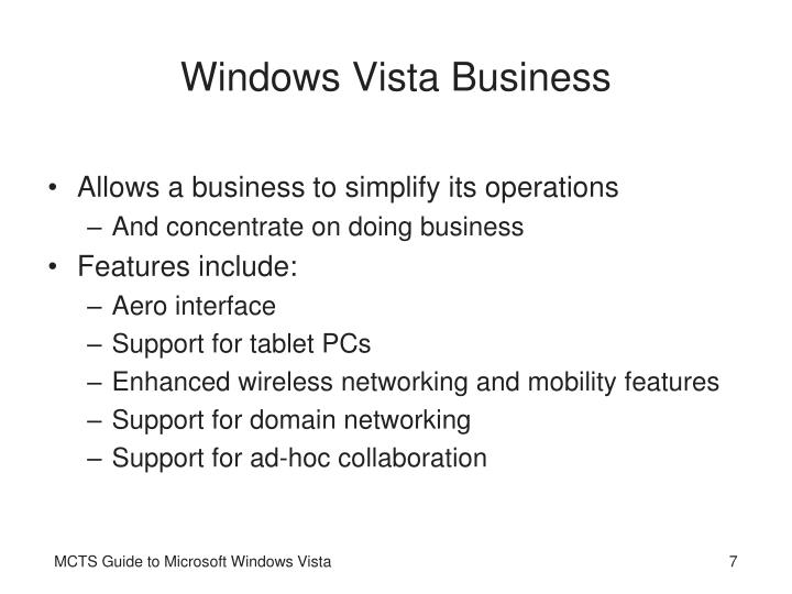 Windows Vista Business
