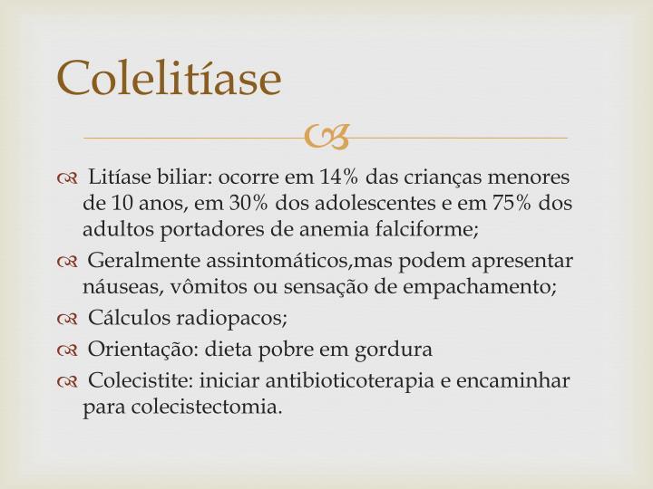 Colelitíase