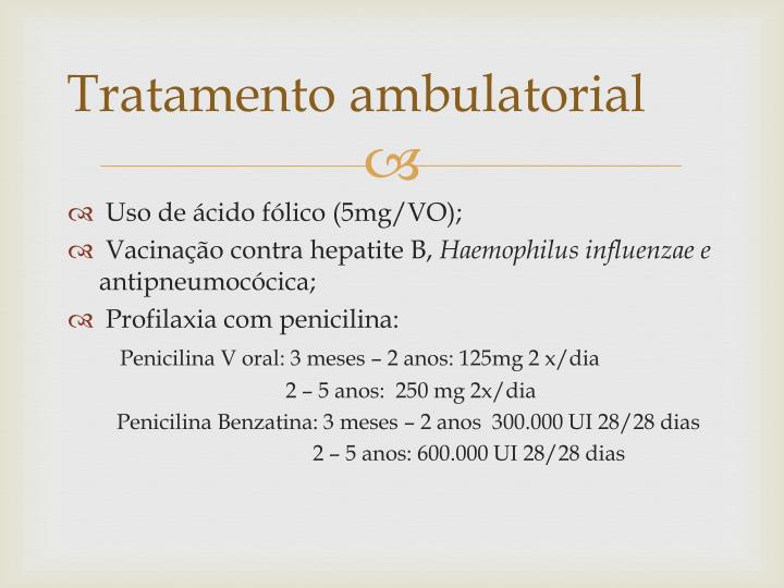 Tratamento ambulatorial