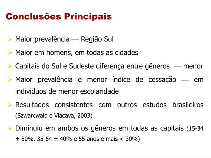 Concluses Principais