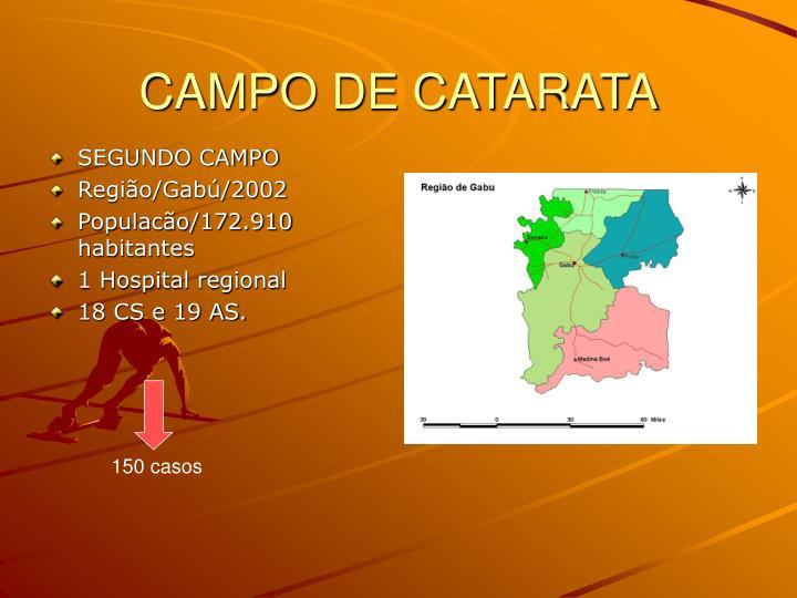 CAMPO DE CATARATA