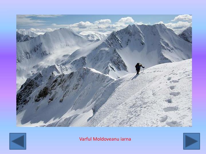 Varful Moldoveanu iarna