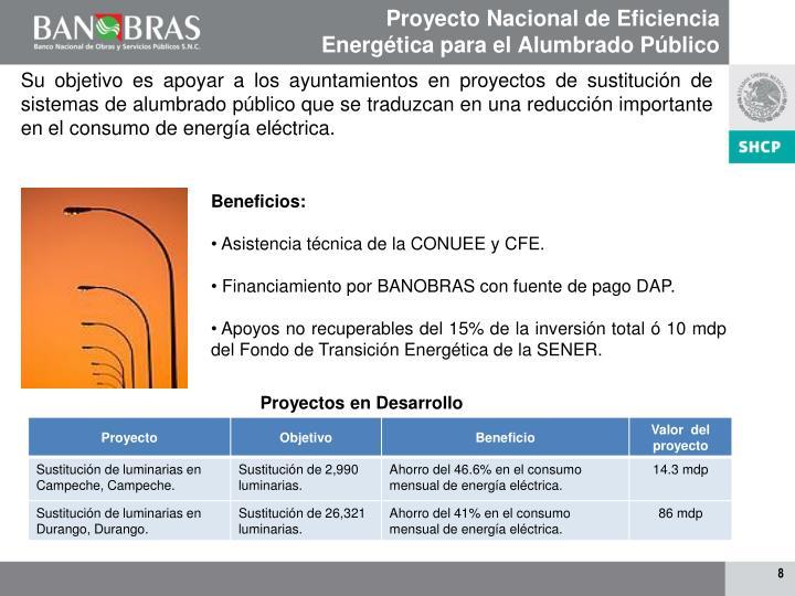 Proyecto Nacional de Eficiencia