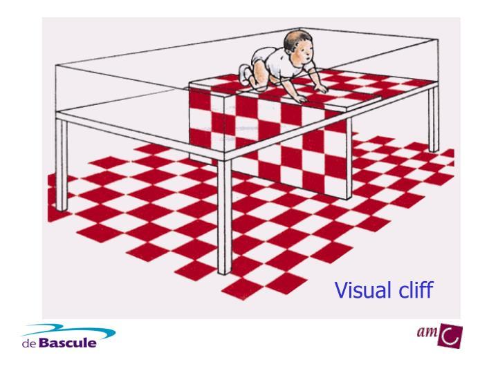 Visual cliff