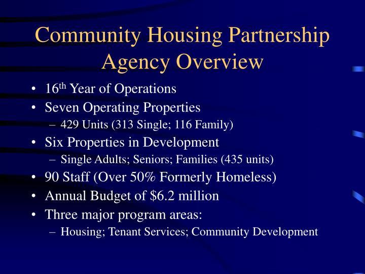 Community Housing Partnership