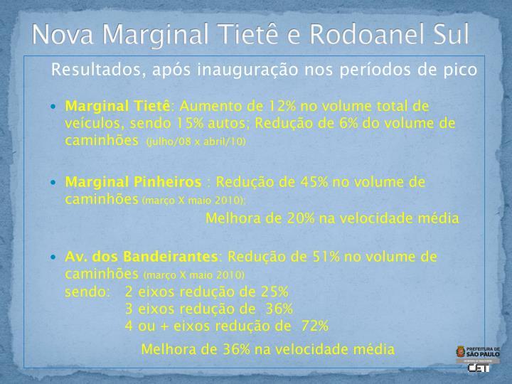 Nova Marginal Tietê e Rodoanel Sul