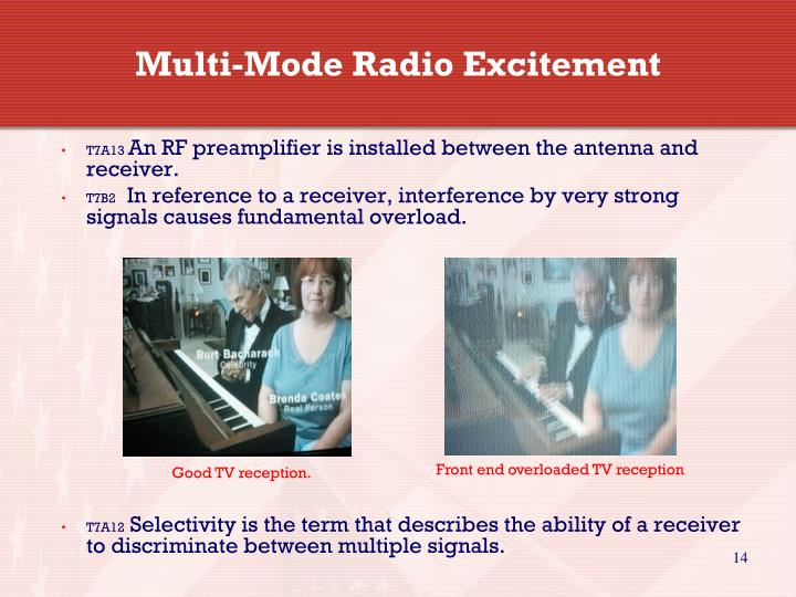 Multi-Mode Radio Excitement