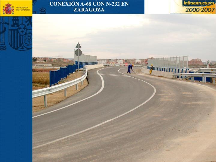 CONEXIÓN A-68 CON N-232 EN ZARAGOZA