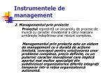 instrumentele de management11