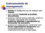 instrumentele de management13