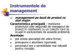 instrumentele de management16