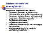 instrumentele de management17