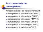 instrumentele de management2