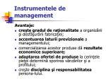 instrumentele de management21