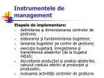 instrumentele de management25