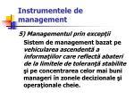 instrumentele de management27