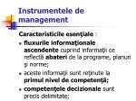 instrumentele de management28