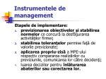 instrumentele de management30