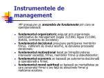 instrumentele de management33