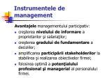 instrumentele de management34