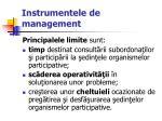 instrumentele de management35